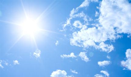 La migliore cura naturale? Il sole!