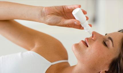 Spray nasale contro il dolore