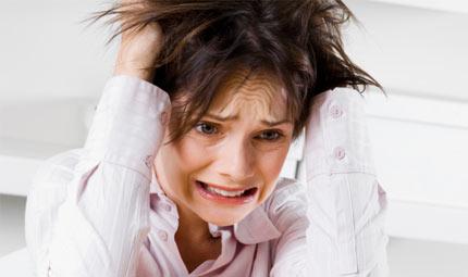 Donne e stress: capelli a rischio