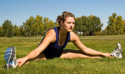 Recupera con lo stretching