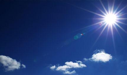 Il sole e l'elioterapia