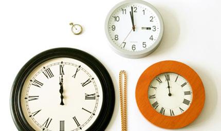 L'ansia e la linea del tempo
