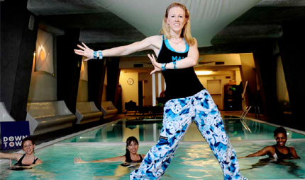 Il Pool Party di Aqua Zumba