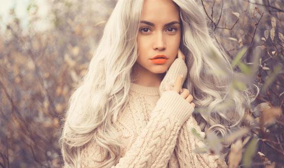 Make up, unghie e capelli: 50 sfumature di grigio