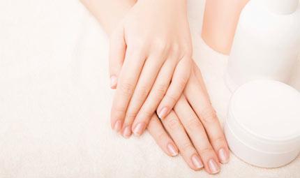 I prodotti per le mani