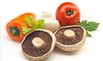 Pomodoro e funghi