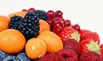 Arance e frutti di bosco