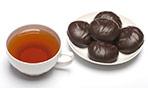 Tè verde e cioccolata