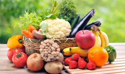 Sei compatibile con la frutta e la verdura?